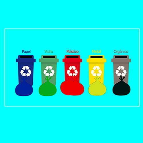 O processo de reciclagem do lixo orgânico e do lixo doméstico