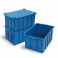 Caixa Plástica Fechada 26L - Mod.1014